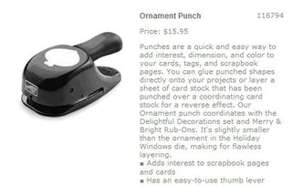 Ornament punch