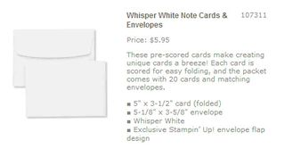 Ww notecards set