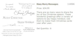 Many merry messages