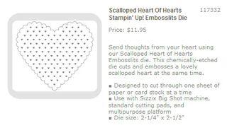 Scalloped heart of hearts embosslit