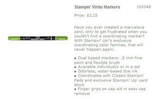 Green galore marker