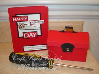 Fathers Day Tool Box Gift Card Holder