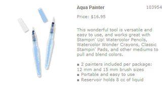 Aqua painter