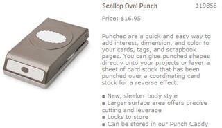 Scallop oval