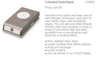 1 3-4 circle punch