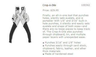 Crop-a-dile