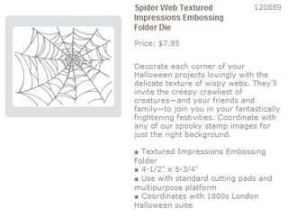 Spiderweb impressions folder
