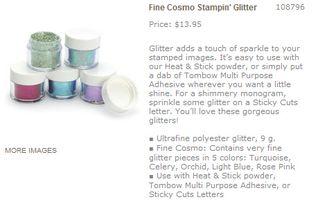 Fine cosmo glitter