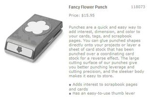 Extra Large flower punch