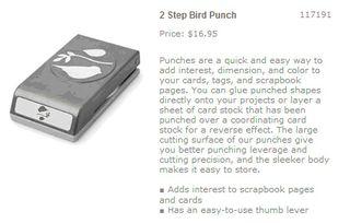 2-step bird punch