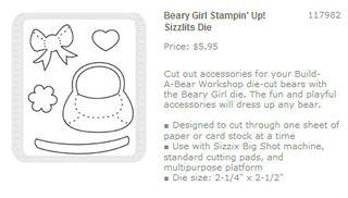 BABW Beary Girl sizzlit