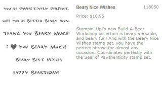 BABW Beary Nice Wishes