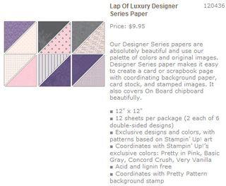 Lap of luxury dsp