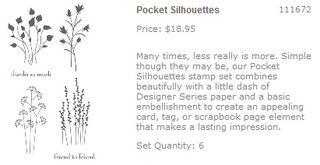 Pocket silhouettes