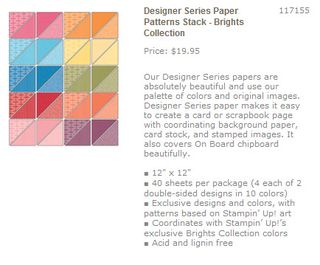 Paper patterns brights collection