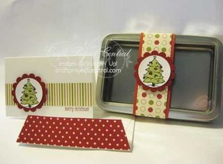 Jolly Holiday Note Card Tin
