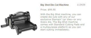 Big shot machine