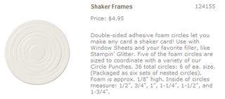 Shaker frames