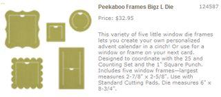 Peek-a-boo frames