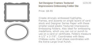 Designer frames folders