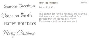 Four the Holidays