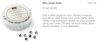 Mini jingle bells