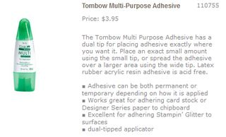 Tombow multipurpose adhesive