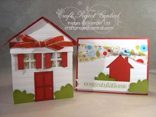 1 - House Gift Box & Card