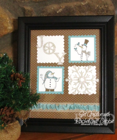 Unfrogettable Stamping | Week 7 Snow Much Fun Winter Decor tutorial