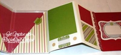 2012 Week 8 Stamp Case Scrapbook Open