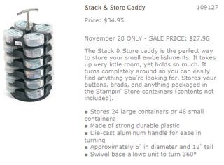 Stack and store caddy promo