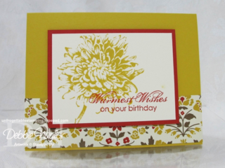 Unfrogettable Stamping | Wendy's card