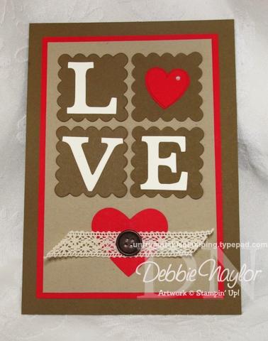 Unfrogettable Stamping | Vintage Valentine 5x7 2013-01-29