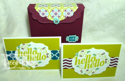 Unfrogettable Stamping | Note Card gift box 2013-02-08