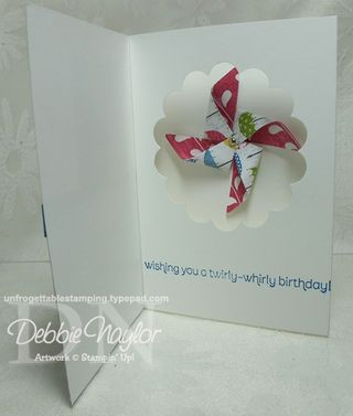 Unfrogettable Stamping | surprise diorama card 2013-02-15
