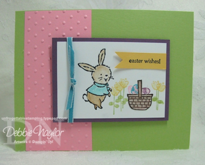 Unfrogettable Stamping | Fabulous Friday Easter card 2013-03-15