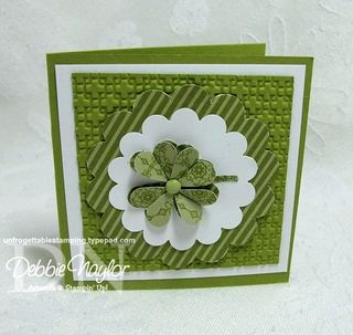 Unfrogettable Stamping   Kathy Kennedy's 3x3 card swaps 2013-03-25