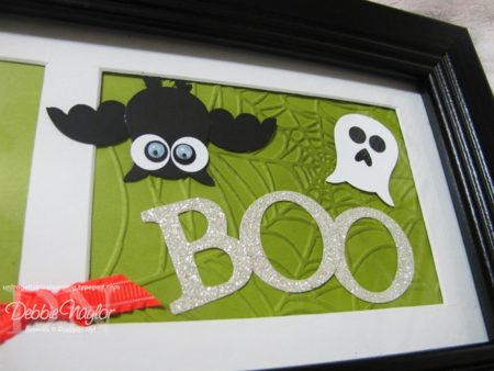 Unfrogettable Stamping - Halloween punch art 10-19-12