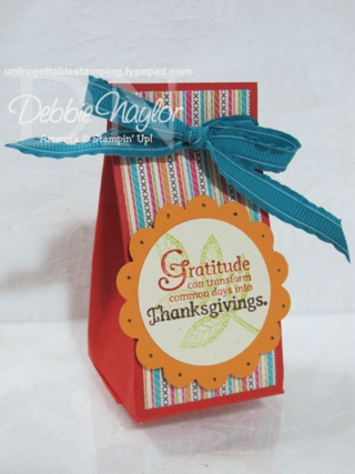 Unfrogettable Stamping:  Fabulous Friday favor box 3