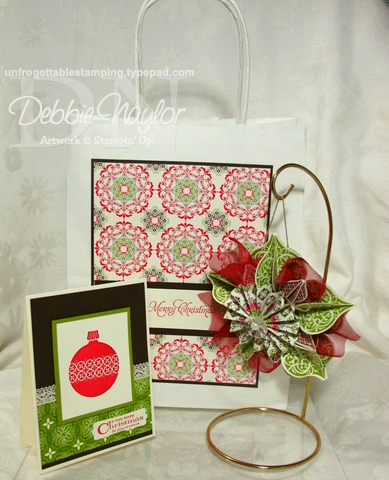 Unfrogettable Stamping   Ornament Keepsakes Class projects