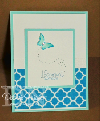 Unfrogettable Stamping | SU Bloomin Marvelous 2013-01-19