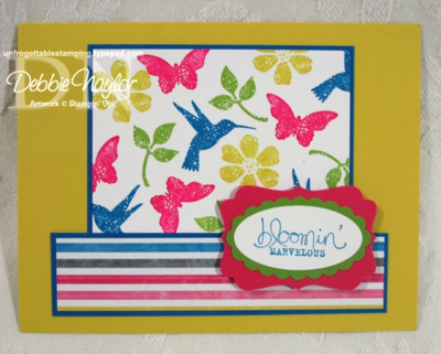 Unfrogettable Stamping | Christy Stanford SAB swap card 2013-01-22