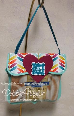 Unfrogettable Stamping | Top Note candy favor 2013-01-27