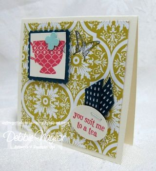 Unfrogettable Stamping   Gaylyn Pantana's 3x3 swaps 2013-03-27
