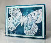 Unfrogettable Stamping | Fabulous Friday Swallowtail card 2013-04-05