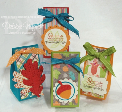 Unfrogettable Stamping:  Fabulous Friday Thanksgiving Favors 2012-11-02