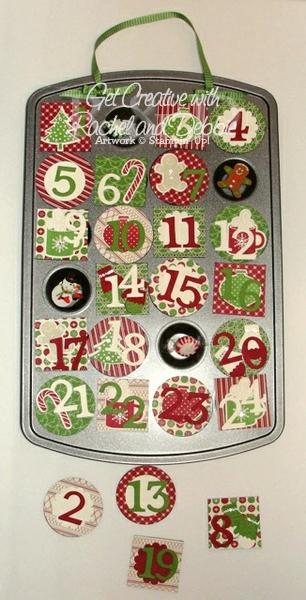 Week 6 Christmas Countdown open tutorial