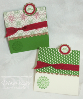 Unfrogettable Stamping - Fun Fold card tutorial