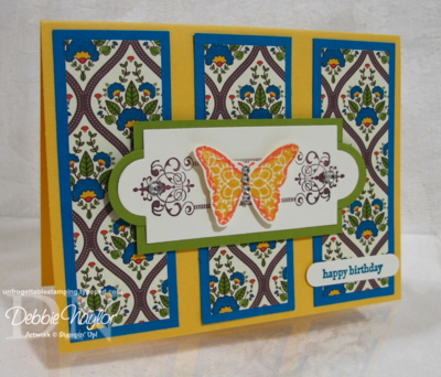 Unfrogettable Stamping | Simply Paper Design Challenge #11, 2012-11-14