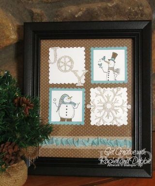 Week 7 Snow Much Fun decor tutorial